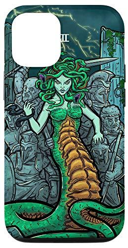 iPhone 12/12 Pro Medusa Tarot Card Greek Mythology Halloween Horror Witch Case