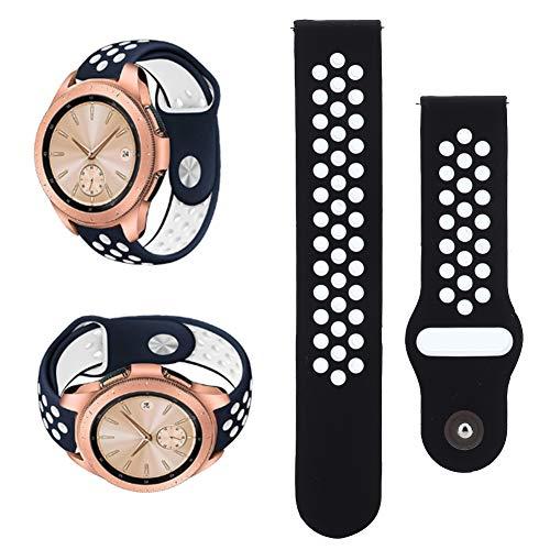 TMISHION Bandas de Reloj de Silicona