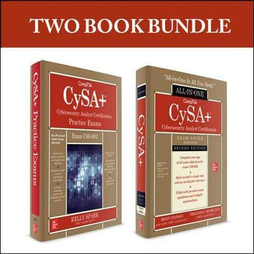 CompTIA CySA+ Cybersecurity Analyst Certification Bundle (Exam CS0-002)