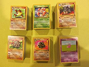 Lot 40 Pokemon GO TCG:1st Gen Cards Base Jungle Fossil Team Rocket Card Common and Uncommon! Hot Seller Items
