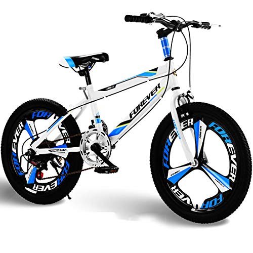 JYD 20 inch Children's Bicycle 6-12 Years Old Bicycle Boys and Girls Suitable for Children's Children's Speed Mountain Bike