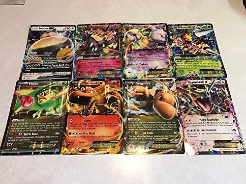 2 Verschillende pokémon Jumbo OVERSIZED Kaarten | GROOT | Pokémon kaarten | Willekeurig | Glimmend kaarten