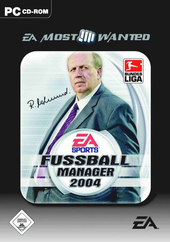 Fussball Manager 2004 [EA Most Wanted]