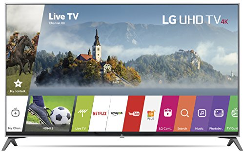 LG Electronics 55UJ7700 55-Inch 4K Ultra HD Smart LED TV (2017 Model)
