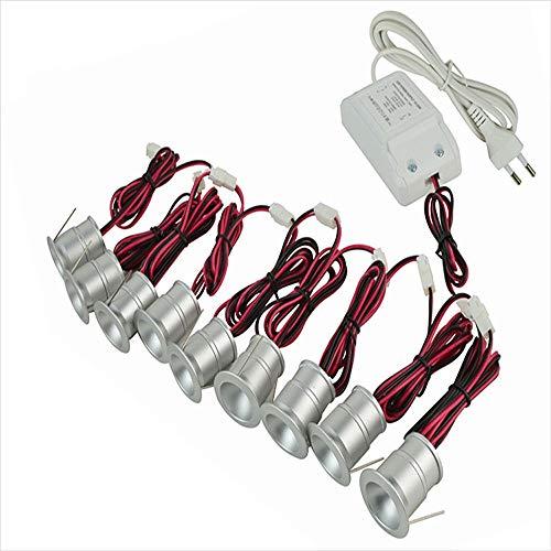 YBright Mini 1W LED empotrado downlight con el conductor y el cable...