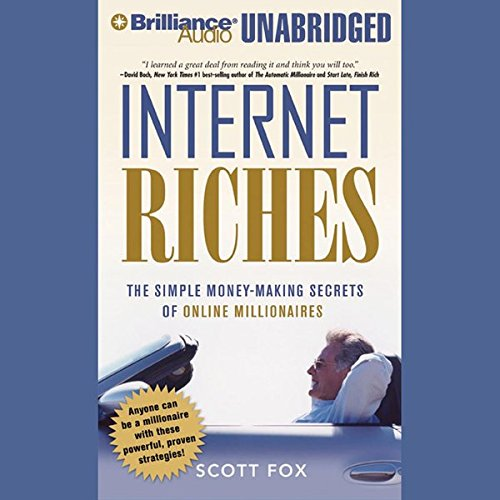 Internet Riches audiobook cover art
