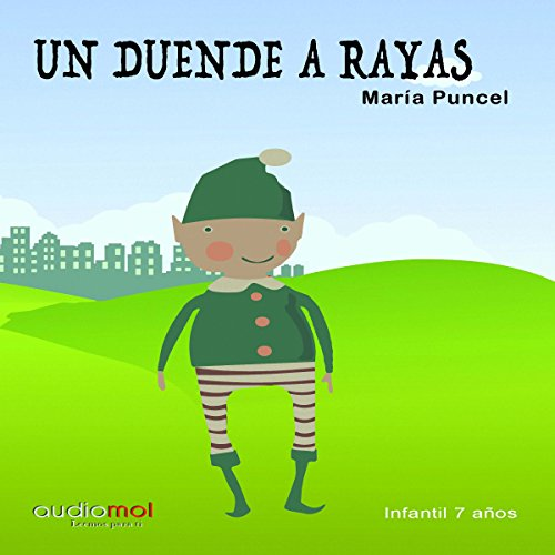 Un duende a rayas [A Striped Elf] audiobook cover art