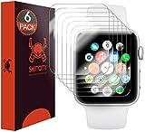 Skinomi TechSkin - Protection d'écran pour Apple Watch 42mm Series 3 & Series 2 ,...