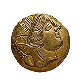 古代ギリシャ アッティカ アテナ テトラドラクマ金貨 レプリカ (金貨)