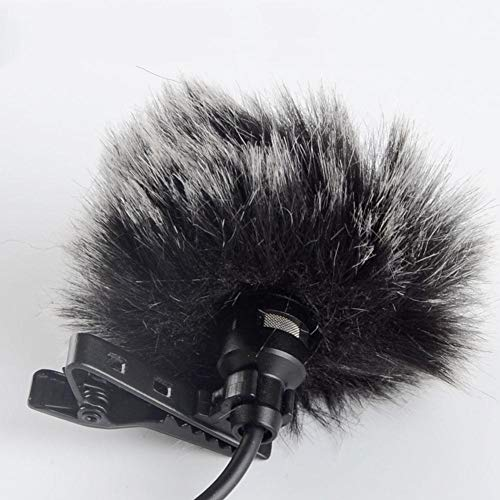 Akozon Microfoon Furry Cover Windscherm Windscreen Muff voor WM6/WM8/M1