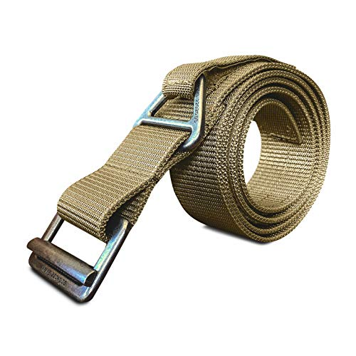 Buy Discount WOLF TACTICAL Rigger's Belt - Heavy Duty 1-Ply CQB Belt for EDC Emergency Rescue Conc...