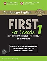 Cambridge English First 1 for Schools for Revised Exam from 2015 Student's Book Pack (Student's Book with Answers and Audio CDs (2)): Authentic Examination Papers from Cambridge English Language Assessment (FCE Practice Tests)