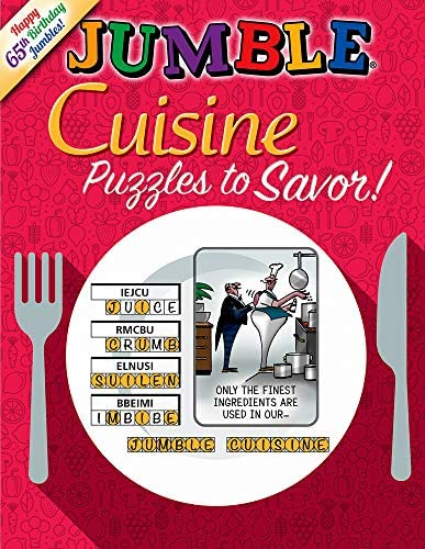 Jumble Cuisine Puzzles to Savor Jumbles product image