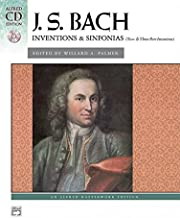 Bach -- Inventions & Sinfonias (2 & 3 Part Inventions): Comb Bound Book & CD (Alfred Masterwork CD Edition)