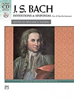 Inventions and Sinfonias: Two-and Three-part Inventions (Alfred Cd Edition)
