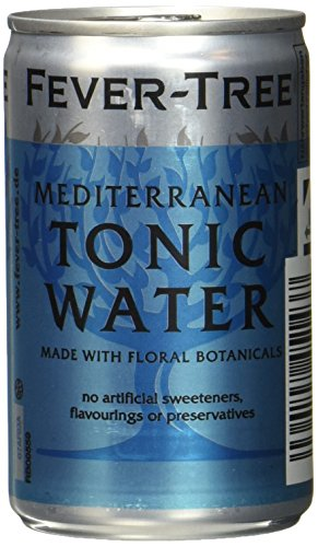 Fever-Tree Premium Mediterranean Tonic Water 24 Dosen à 150 ml