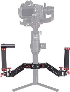 DIGITALFOTO Ares Z Axis Spring Gimbal Dual Handle,Damping Detachable Dual Grip Compatible with ZHIYUN Crane 2, DJI Ronin S, FEIYU AK2000/4000, Moza Air 2 and More 3 Axis Gimbal