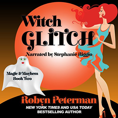 Witch Glitch audiobook cover art