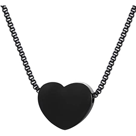 Silver heart necklace dainty chain heart pendant cute silver chain minimalist jewelry Heart charm necklace valentines day gift