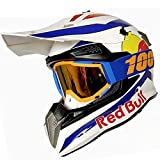 casco motocross red bull