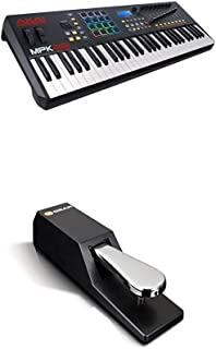 Beat Maker Bundle – 61 Key USB MIDI Keyboard Controller Wi