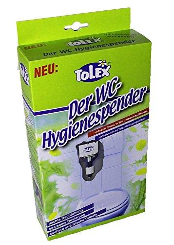 Tolex - WC Hygienespender | WC Reiniger für Unterputzspülkästen