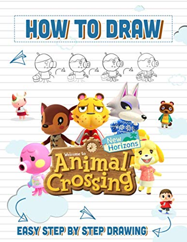 How to Draw Animal Crossing New Horizon: Easy Techniques For Drawing Characters Animal Crossing New Horizon Unofficial