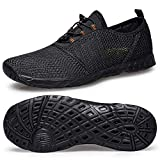 Water Shoes for Men Women-Men's Water Shoes Size 8 Quick Fast Drying Water Shoes Women Size 9 Aqua...