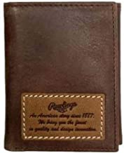 Rawlings American Story Trifold Leather Wallet For Men