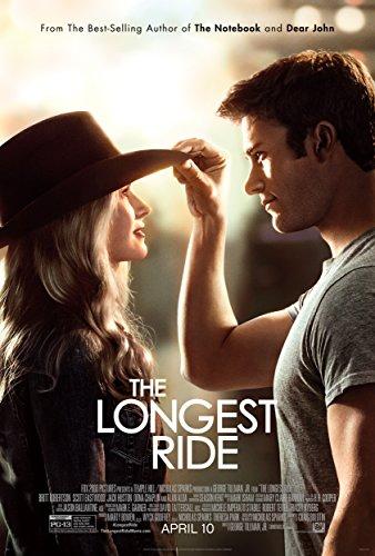 WMG The Longest Ride Movie Poster (2015) 24 x 36 Inches, Britt Robertson, Scott Eastwood, Nicholas Sparks