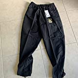US Army GI PT Pants APFU (Army Physical Fitness Uniform) Latest Style Black & Gold Large Long