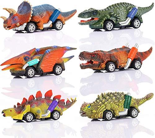 Juego de 6 juguetes de dinosaurio para niños de 5 años de edad, juguetes de dinosaurio para niños de 3 años de edad, juguete de dinosaurio, juguetes para niños de 3 años y niños pequeños, juguetes para niños de 3, 4, 5 años y más