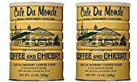 Cafe Du Monde Chicory Decaffeinated Coffee, Net Wt. 13 oz (2 Pack) by Cafe Du Monde