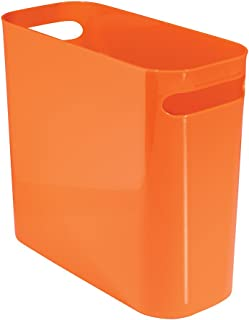 Merveilleux InterDesign Una Corbeille à Papier, Poubelle En Plastique Avec Poignées,  Conteneur à Papier Pour