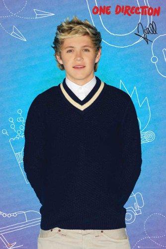 One Direction - Niall Horan - Musikposter Pop Musik Mädchenschwarm Star Cool - Grösse 61x91,5 cm