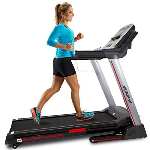 BH Fitness - Marathoner Cinta de correr, Adultos...