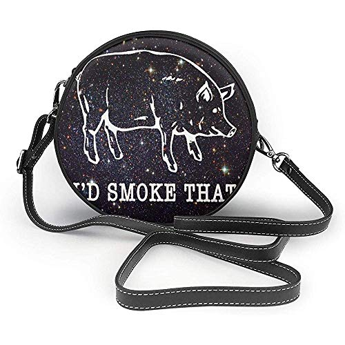 TURFED barbacoa cerdo I 'D humo que el bolso de hombro de...