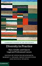 Diversity in Practice: Race, Gender, and Class in Legal and Professional Careers (Cambridge Studies in Law and Society)