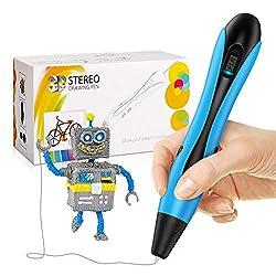 dmazing 3D Stifte, Kleine Geschenke für Kinder Kinderspielzeug ab 5-12 Jahren Spielzeug ab 6 7 8 9 10 Jahren für Jungen Lernspielzeug für Kinder Jungs 5-12 Jahre Blau