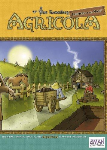 Z-Man Games ZMG7026E - Agricola: Farmers of The Moor, Brettspiel