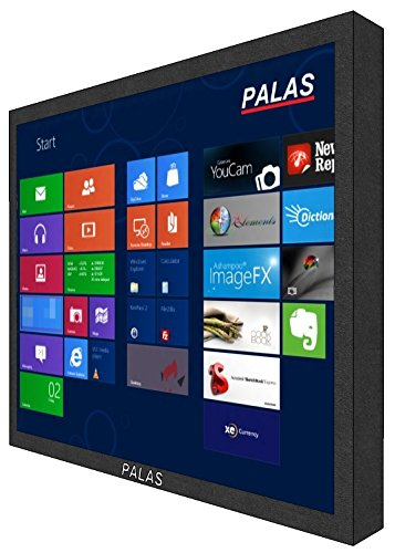 PALAS 43 cm/17 inches Industrial Touch Screen Monitor (Black)