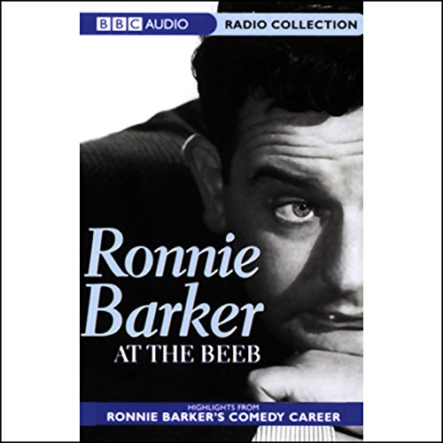 Ronnie Barker at the Beeb audiobook cover art