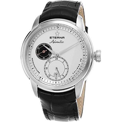 Eterna Herren-Armbanduhr 44mm Schweizer Automatik 7660.4166.1273