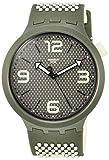 Swatch Reloj Analógico para Hombre de Cuarzo con Correa en Silicona SO27M102