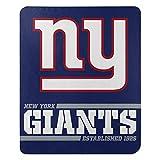 Northwest NFL New York Giants 50x60 Fleece Split Wide DesignBlanket, Team Colors, One Size (1NFL031040081RET)