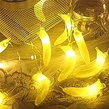 Fruit String Lights Battery Powered Indoor Outdoor Lighting Lamp Strawberry/ Grape/ Watermelon/ Lemon/ Banana for Wedding Home Birthday Garden Yard Patio Party Decorations (Banana)