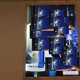 Gowe Outdoor Waterproof Super Slim Advertising LED Light Box with lock Picture size: 540mmx840mm