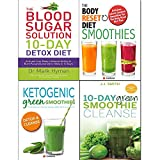10-Day Green Smoothie Cleanse,Ketogenic Green Smoothies,Blood Sugar Solution and Body Reset Diet 4 Books Collection Set