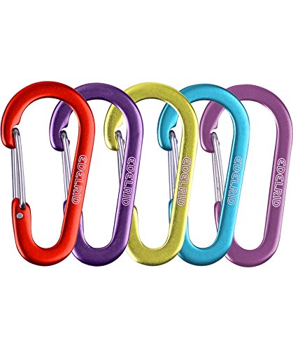 Edelrid Karabiner Micro 3, Assorted Colours, 718690039000