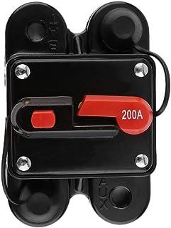 healthwen Portafusibles de Audio para automóvil con Interruptor Protector de Fuente de alimentación Disyuntor